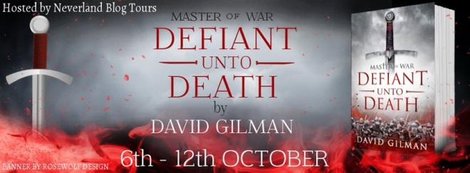 Defiant Unto Death - Tour Banner
