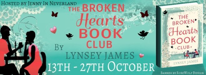 The Broken Hearts Book Club - Tour Banner
