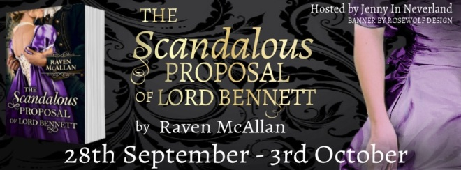 The Scadalous Proposal of Lord Bennett - Tour Banner