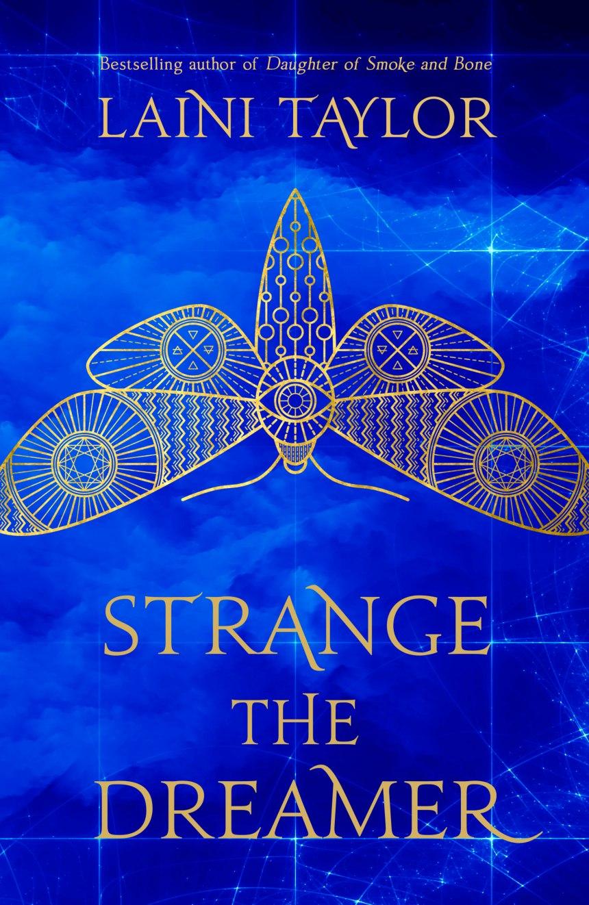 Strange the Dreamer - UK Cover Reveal