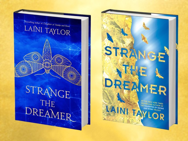 Strange the Dreamer - UK & US Covers