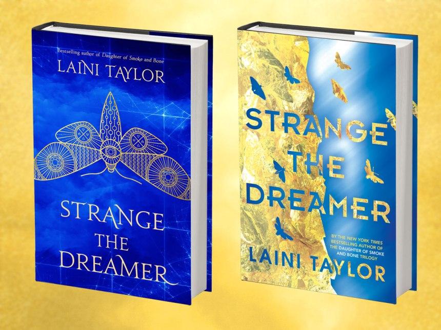 Strange the Dreamer - UK & US Covers