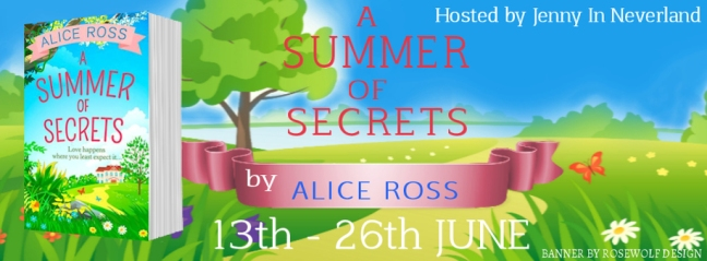 A Summer of Secrets - Tour Banner
