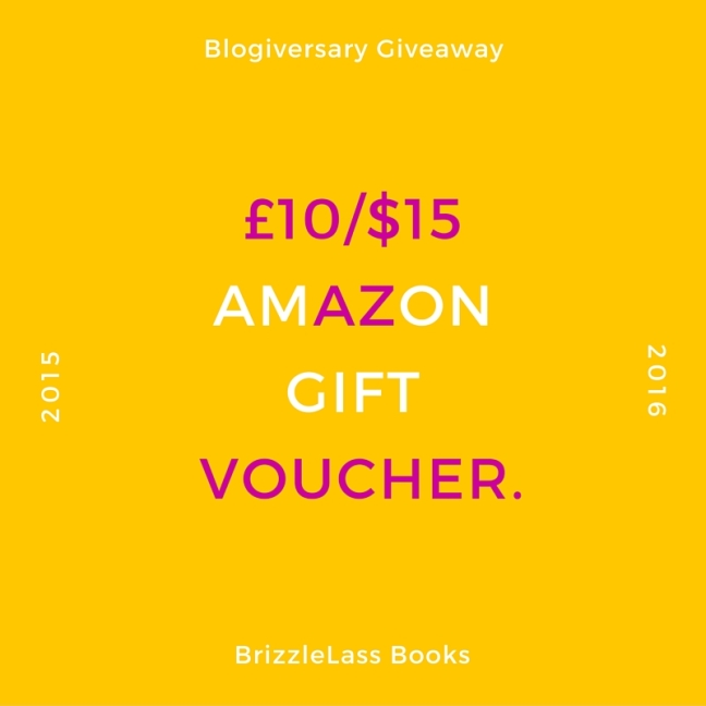 Blogiversary - Amazon Voucher