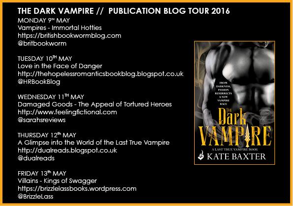 The Dark Vampire - Tour Banner
