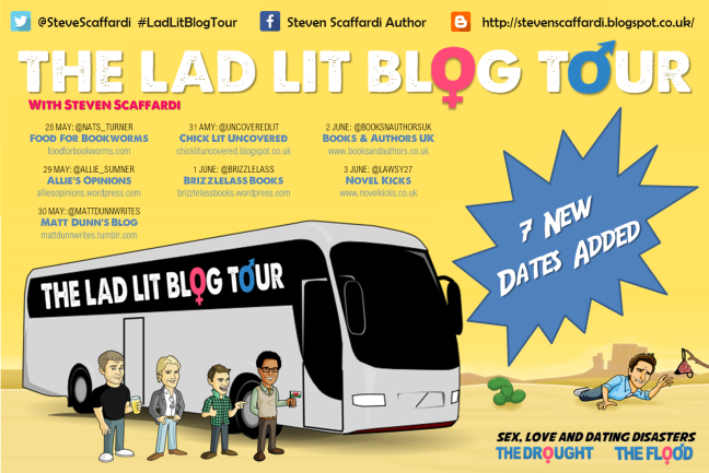 The Lad Lit Blog Tour - Tour Banner