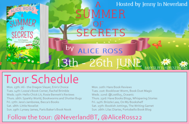A Summer of Secrets - Tour Schedule