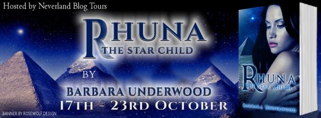 Rhuna, The Star Child - Tour Banner