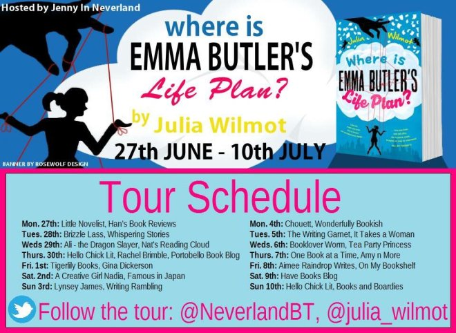 Where Is Emma Butlers Life Plan - Tour Schedule