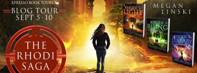 Rhodi's Light - Tour Banner