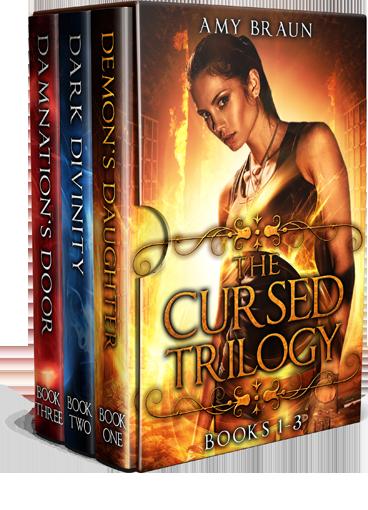 Book Blitz: Cursed Trilogy by Amy Braun featQ&A
