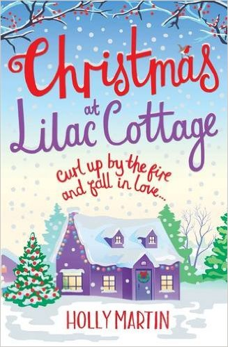 #Review: Christmas At Lilac Cottage by Holly Martin #Giveaway @hollymartin00 @BonnierZaffre@bookouture