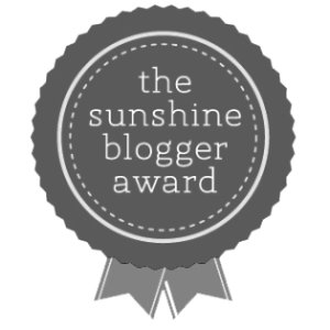 AWARD: The Sunshine Blogger Award … Take 4