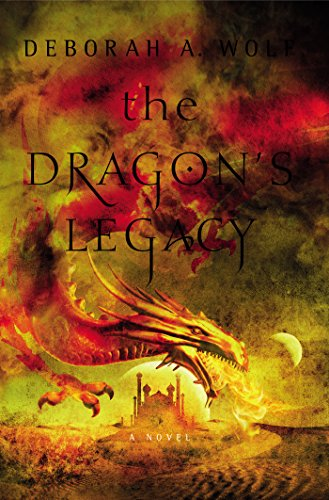#Review: The Dragon's Legacy by Deborah A. Wolf @Bard_Queen @TitanBooks