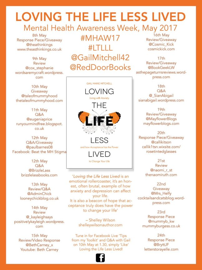 Loving The Life Less Lived - Tour Banner