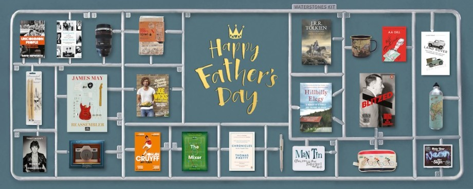 Father's Day - Waterstone's Banner