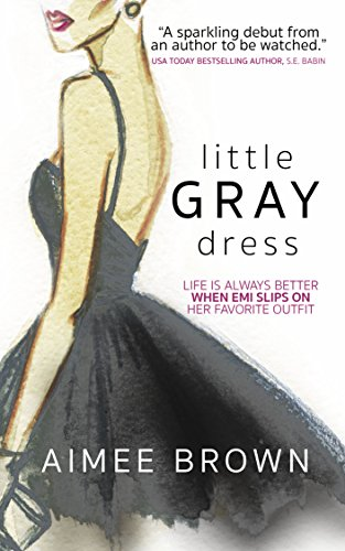 #BlogTour: Little Gray Dress by Aimee Brown @AuthorAimeeB @crookedcatbooks #Review