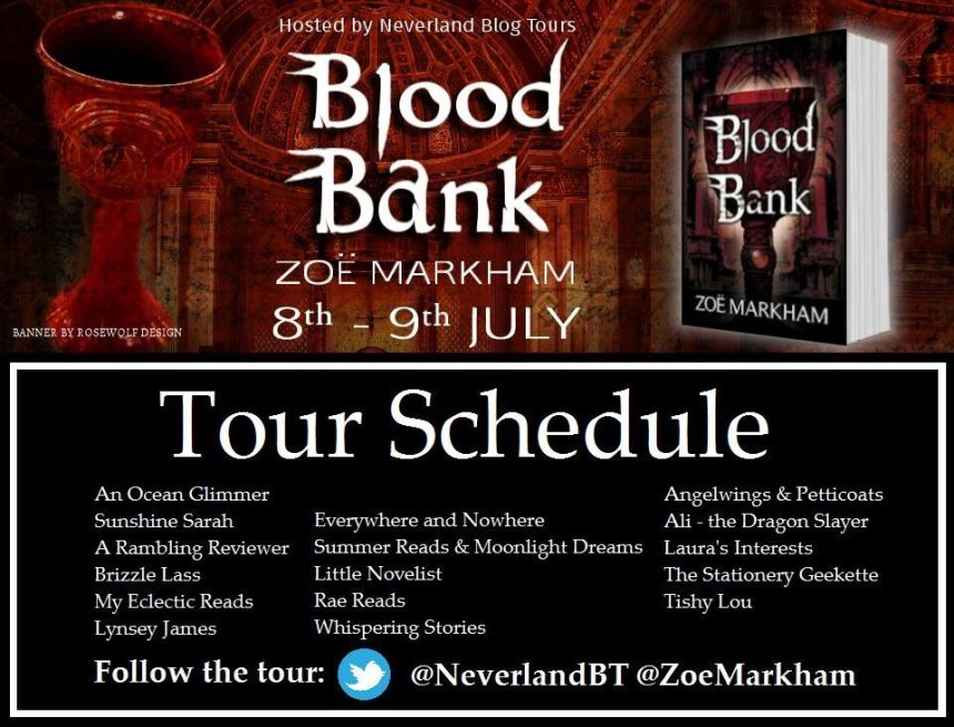 Blood Bank - Tour Schedule