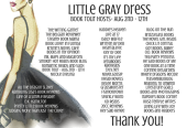 Little Gray Dress - Tour Banner