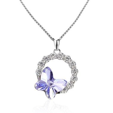 Butterfly necklace picture