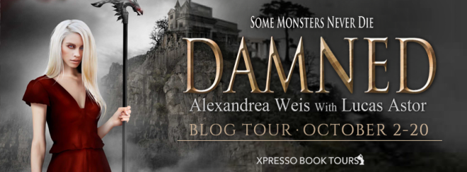 Damned - Tour Banner