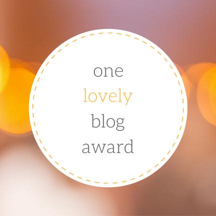AWARD: One Lovely BlogAward
