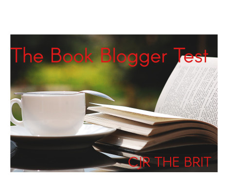 TAG: The Book Blogger Test