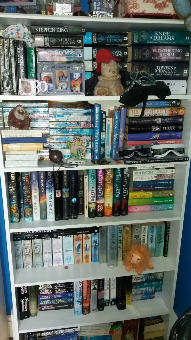 Claire Buss - Bookshelf
