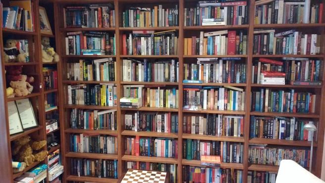 Jackie Bookshelf