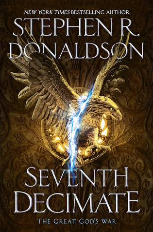 #Review: Seventh Decimate by Stephen Donaldson @Gollancz