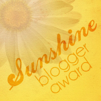 AWARD: The Sunshine Blogger Award … Take 3