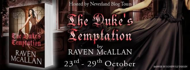 The Duke's Temptation - Tour Banner