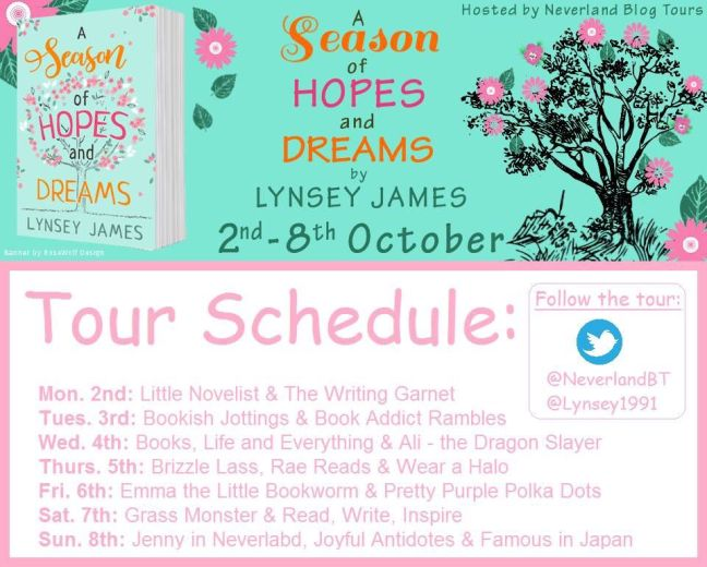 A Season of Hopes and Dreams - Tour Schedule