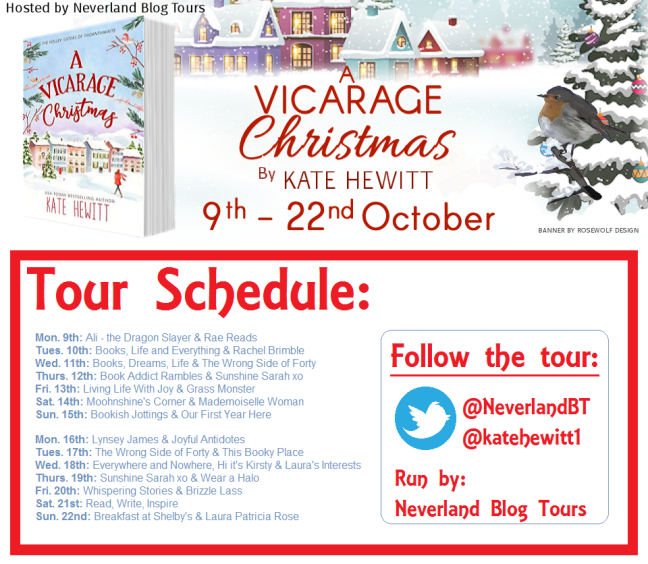 A Vicarage Christmas - Tour Schedule