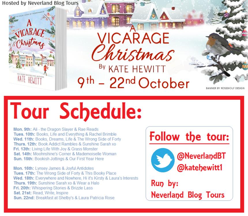 A Vicarage Christmas - Tour Schedule