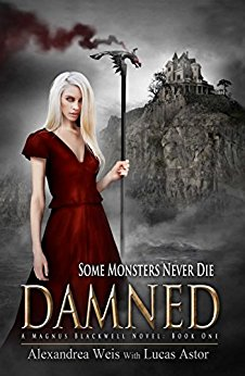 #BlogTour: Damned by Alexandrea Weis & Lucas Astor @alexandreaweis @XpressoTours #Review #Giveaway
