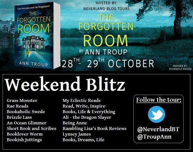 The Forgotten Room - Tour Schedule