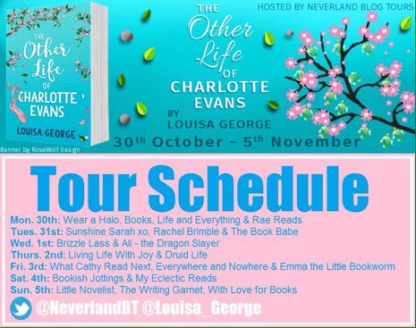 The Other Life of Charlotte Evans - Tour Schedule