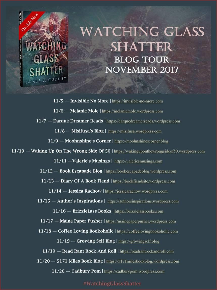 Watching Glass Shatter - Tour Schedule