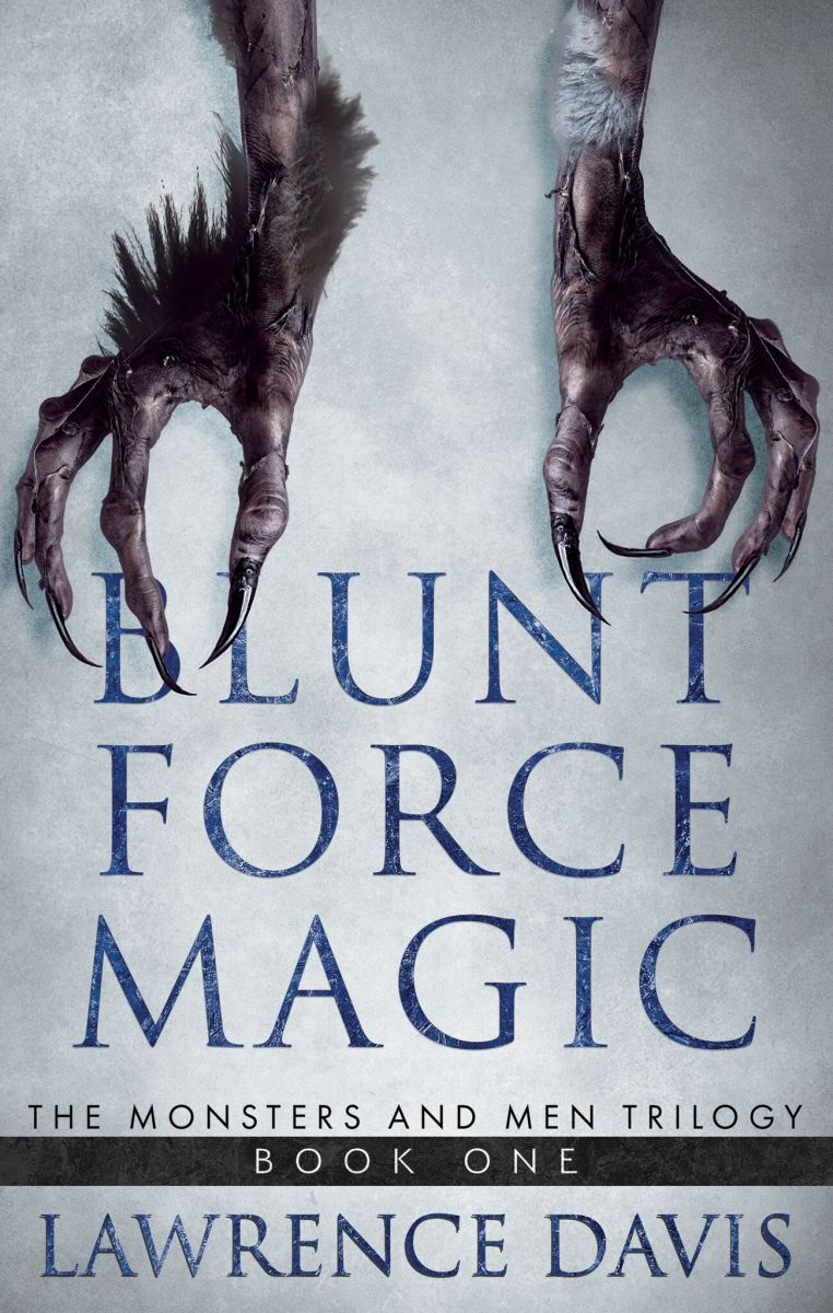 #Review: Blunt Force Magic by Lawrence Davis @LawrenceEdmund5 @WildBluePressA