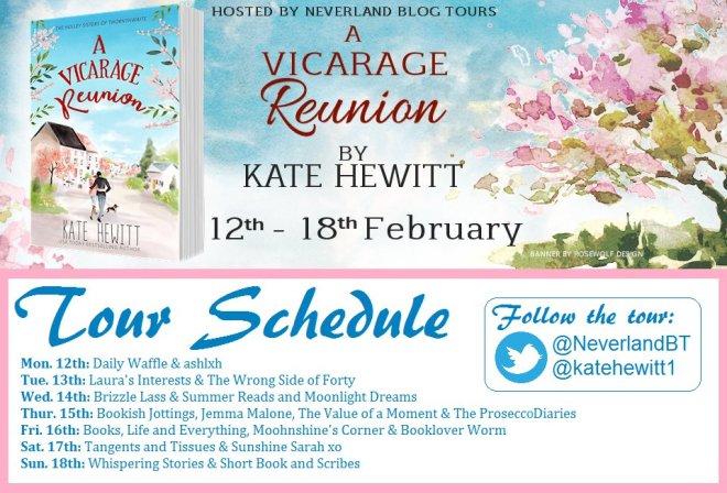 A Vicarage Reunion - Tour Schedule