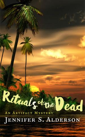#BlogTour: The Authors Bookshelf Special Edition – Jennifer S. Alderson – Rituals of the Dead @JSAauthor