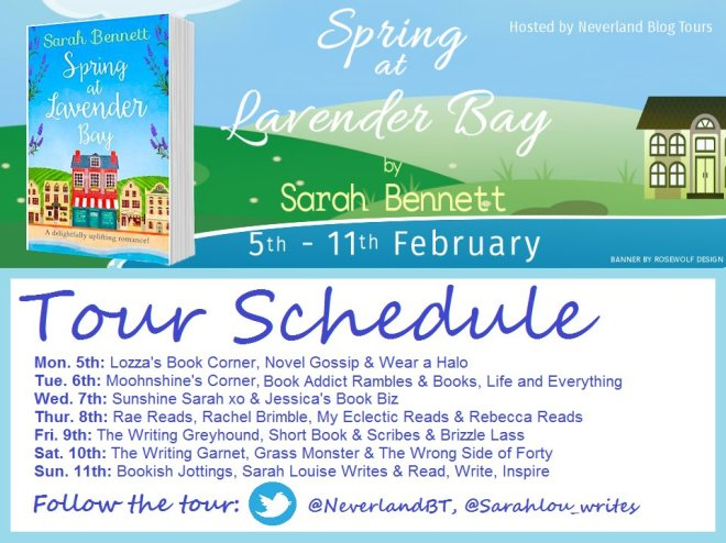 Spring at Lavender Bay - Tour Schedule